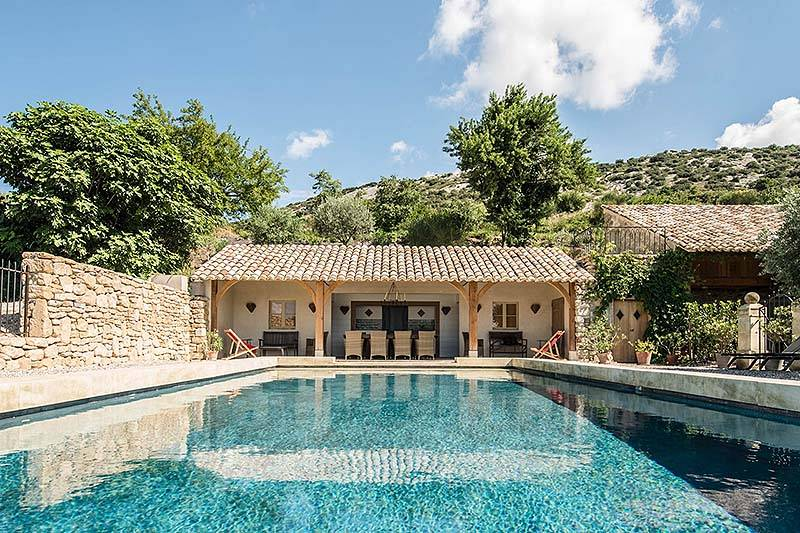 Villa Les Dentelles   Description, Location, Rental Rates U0026 Conditions, By  Homes U0026 Provence   Luxury Holiday Rentals